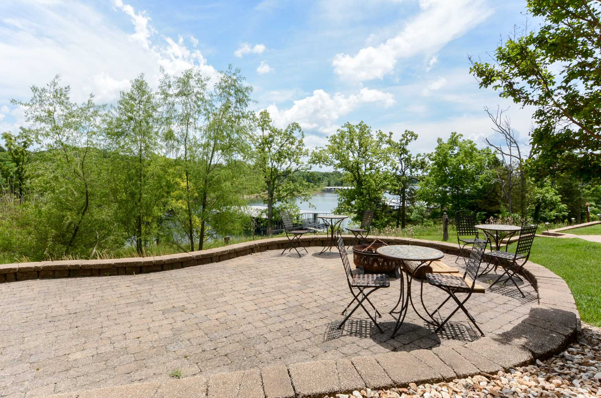 Relax out on the spacious patio.