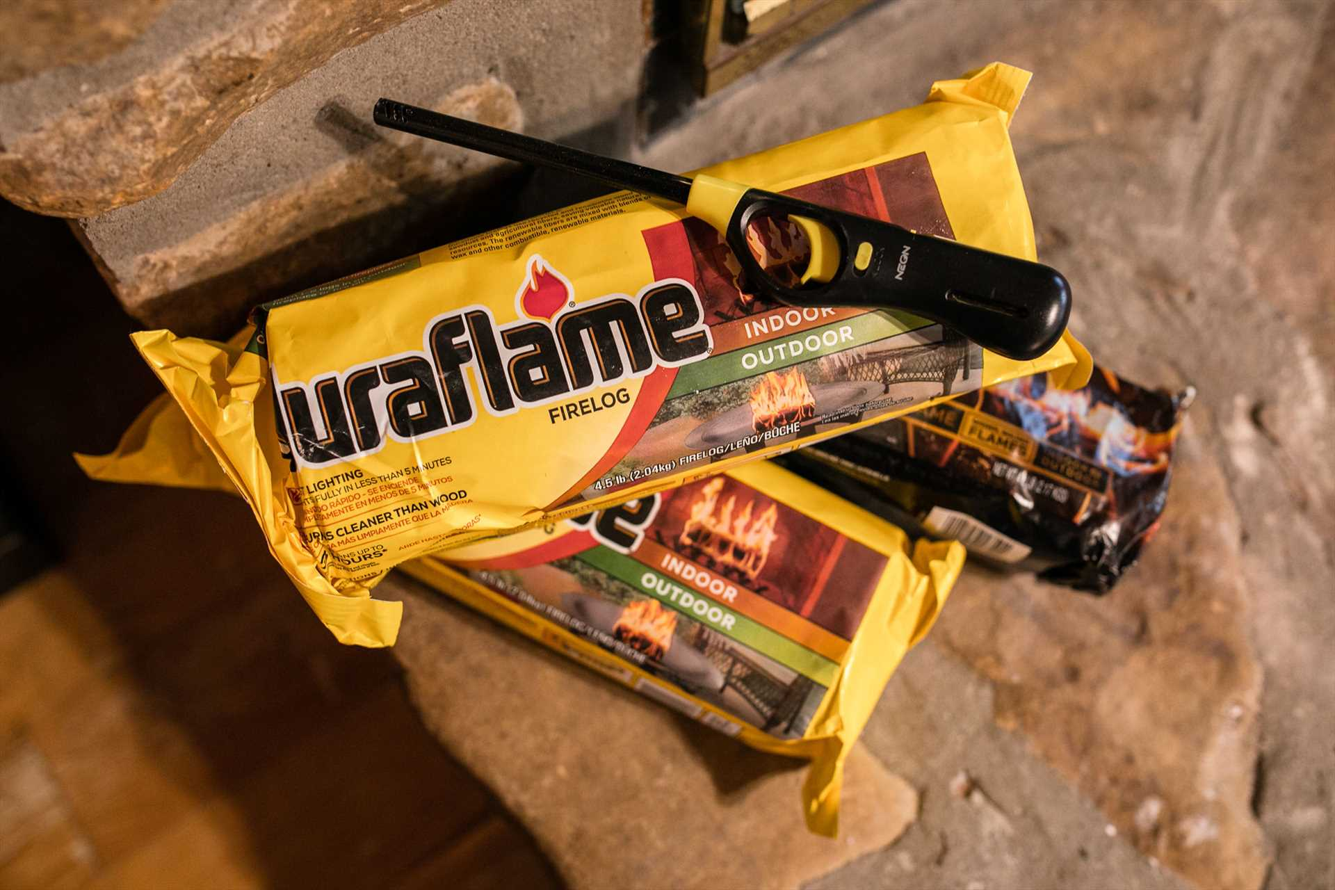 We provide everything you need to start your first fire.