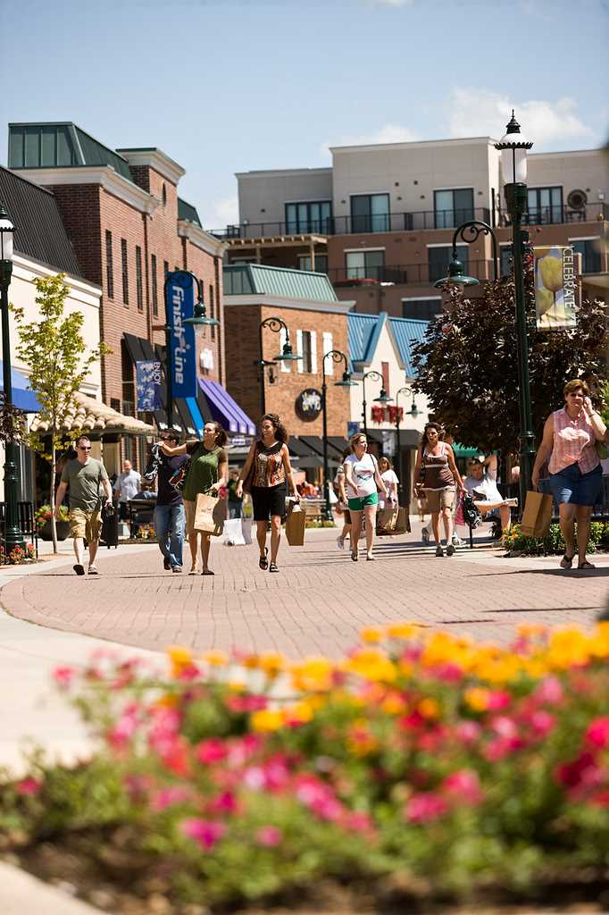 The Branson Landing has great shopping and restaurants right
