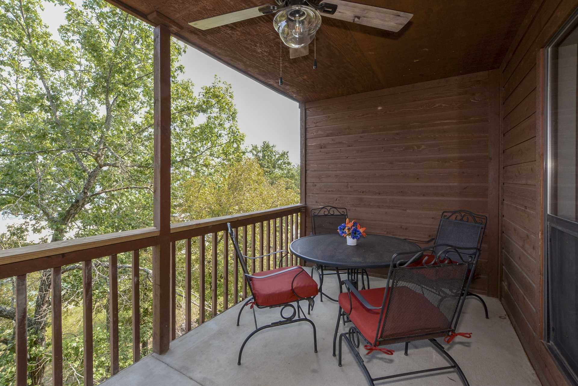 You'll love the views off of the large deck.