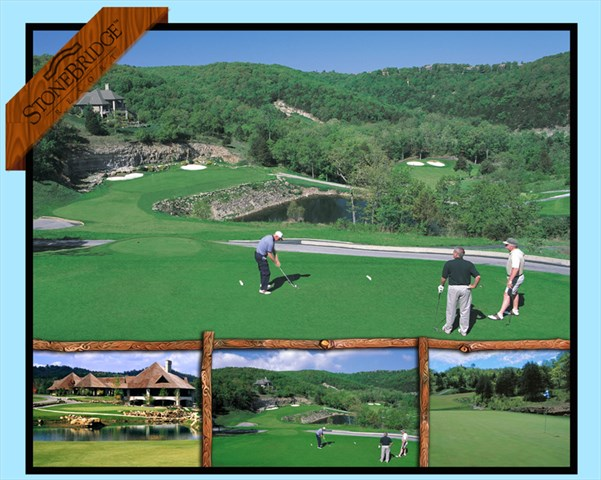 The award winning Ledgestone golf course is right on site! E