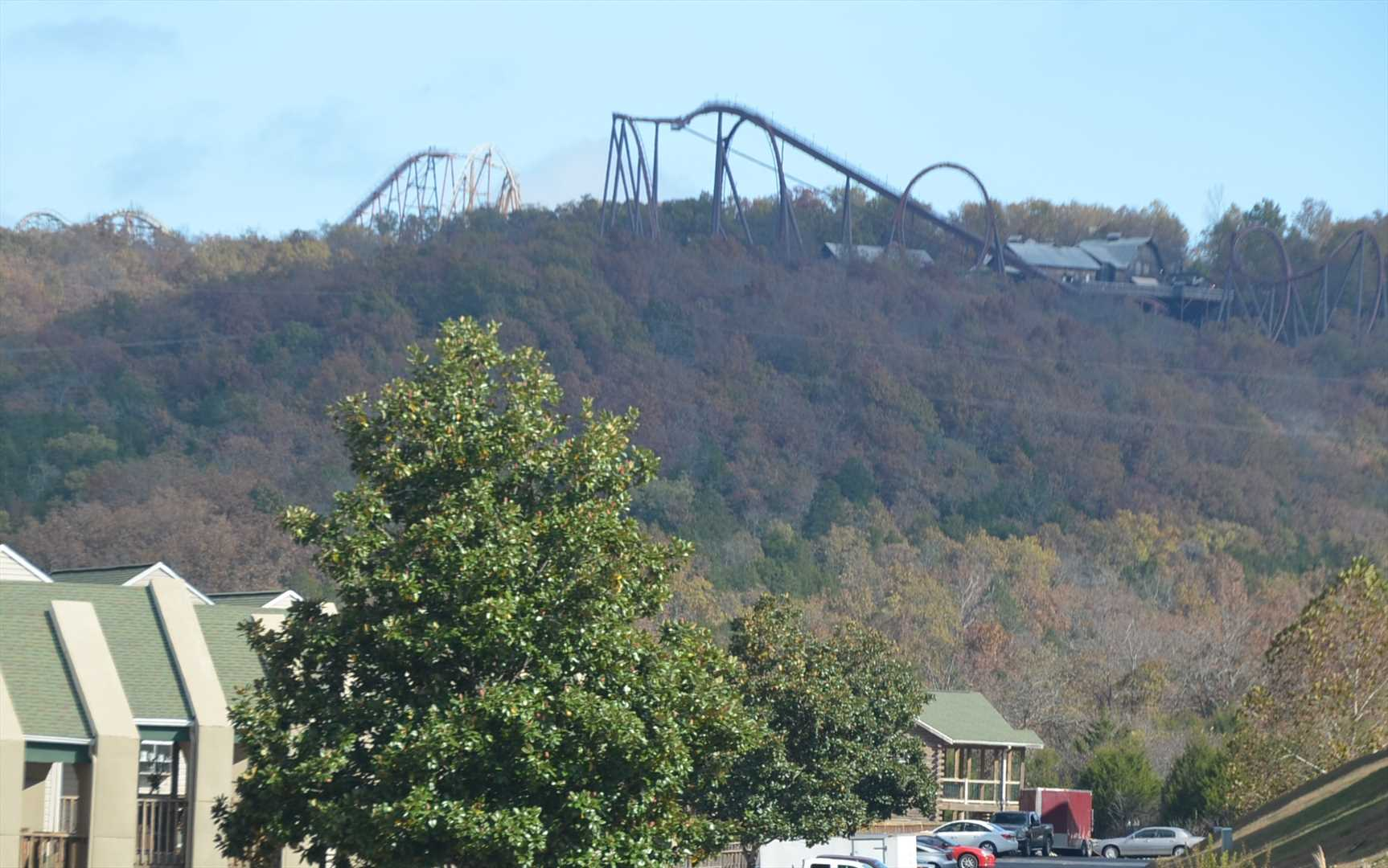 We are the complex closest to Silver Dollar City.