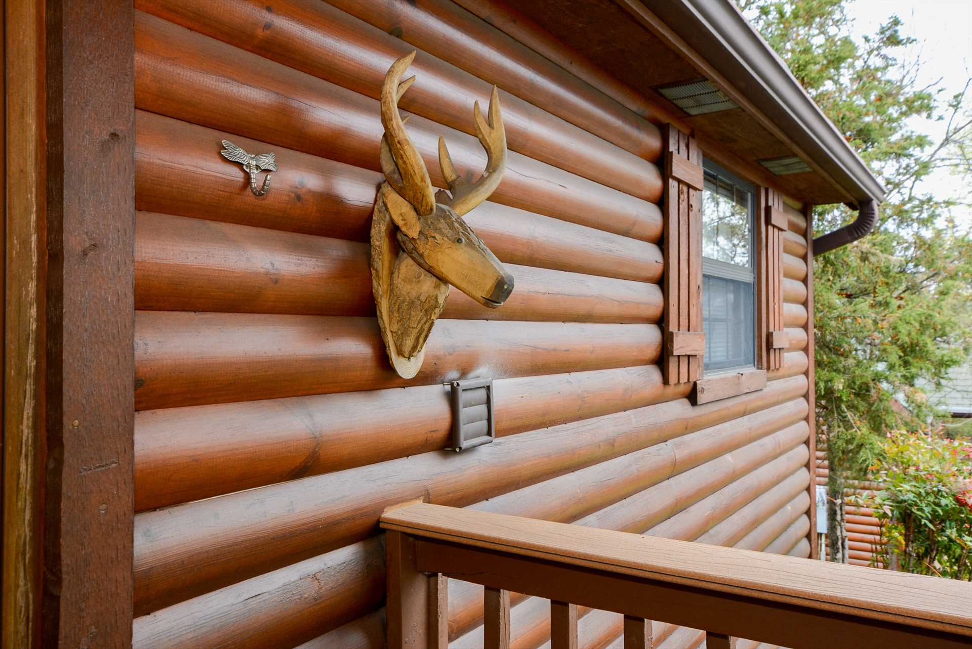 This is the real deal - a solid log cabin in the heart of th