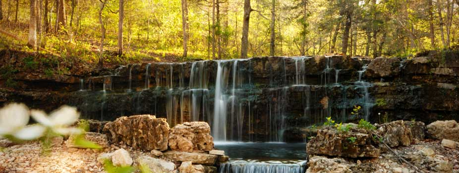 [Branson Woods] Waterfall (Slider-Rectangle)